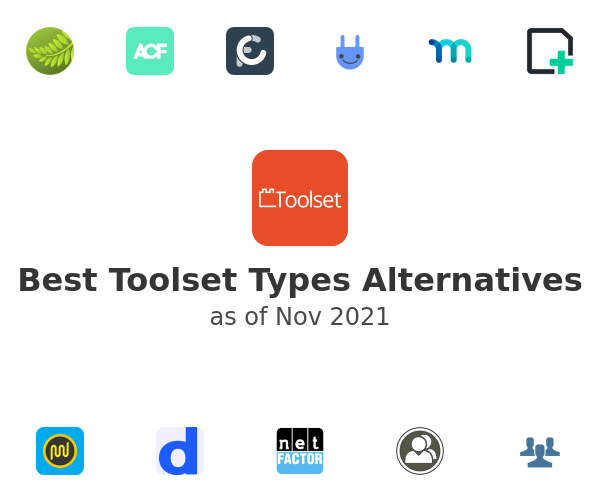 Best Toolset Types Alternatives
