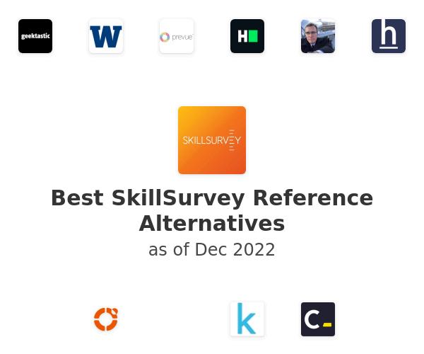 Best SkillSurvey Reference Alternatives