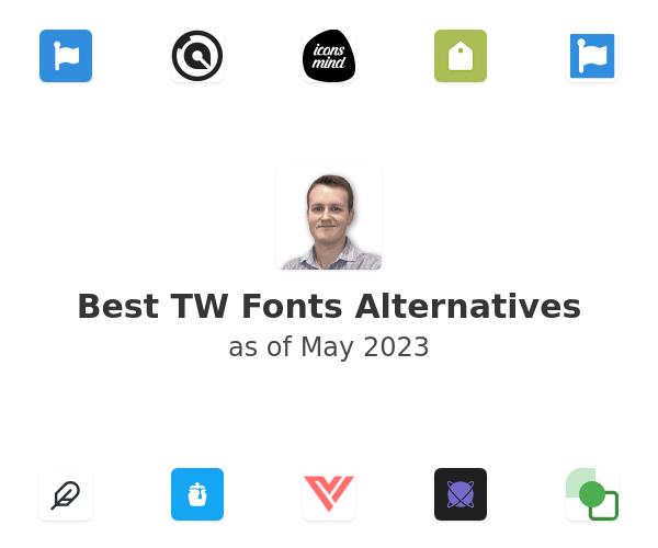 Best TW Fonts Alternatives