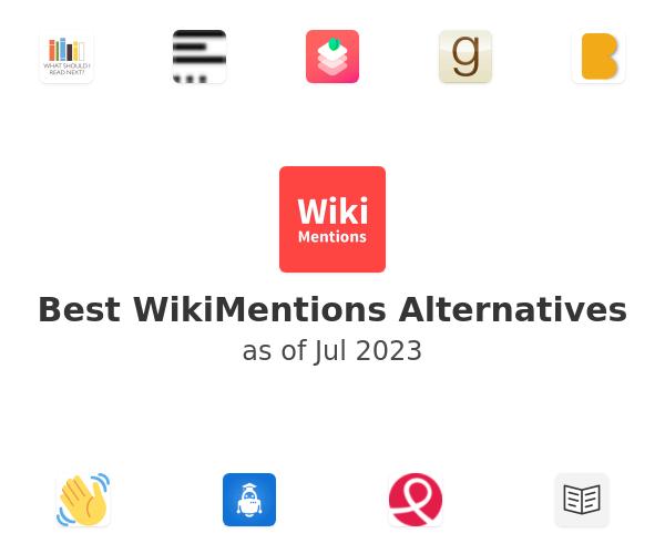 Best WikiMentions Alternatives