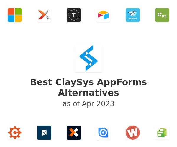 Best ClaySys AppForms Alternatives