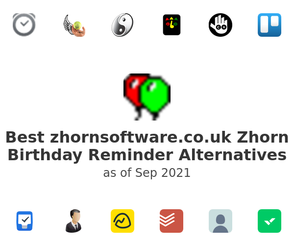 Best Zhorn Birthday Reminder Alternatives