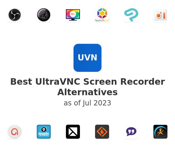 Best UltraVNC Screen Recorder Alternatives