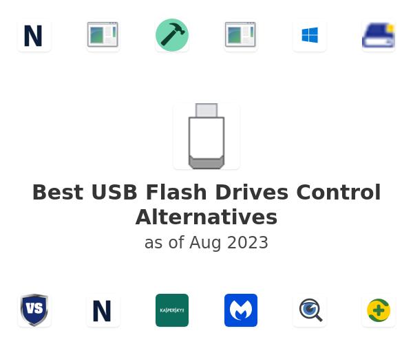 Best USB Flash Drives Control Alternatives
