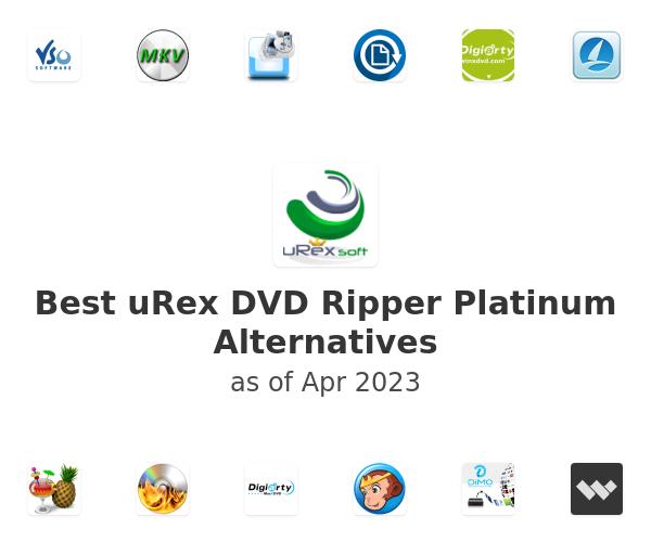 Best uRex DVD Ripper Platinum Alternatives