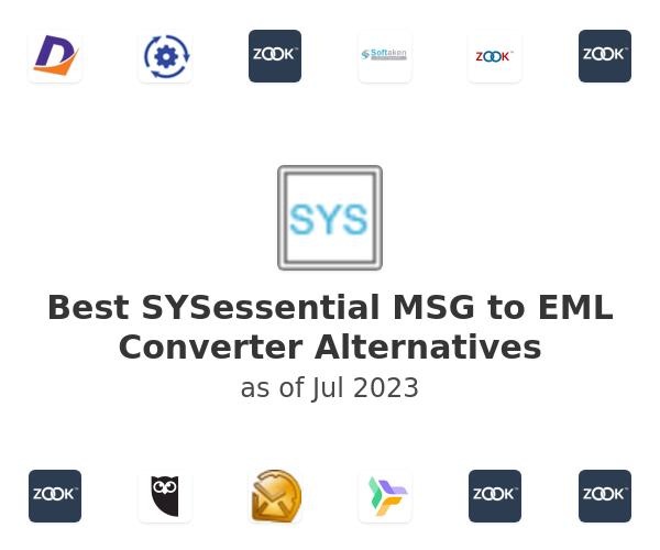 Best SYSessential MSG to EML Converter Alternatives