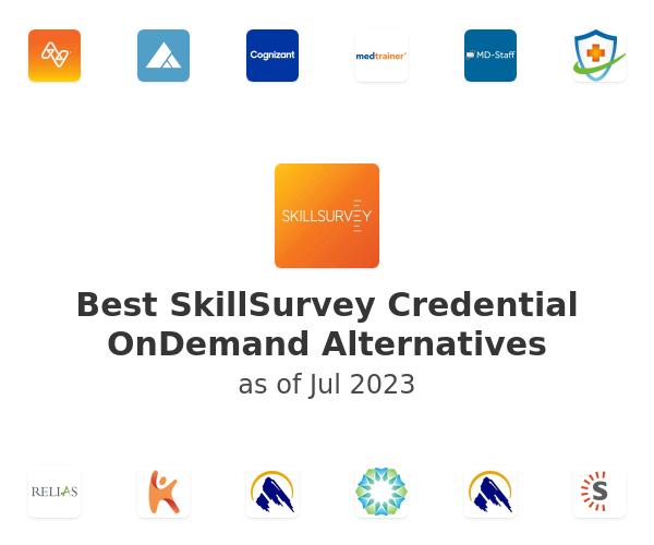Best SkillSurvey Credential OnDemand Alternatives