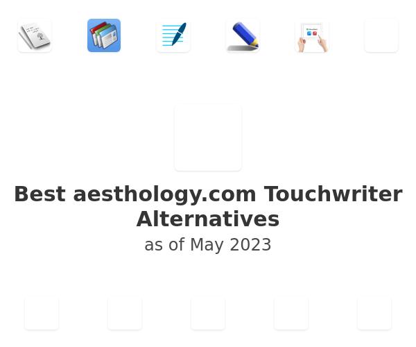 Best Touchwriter Alternatives