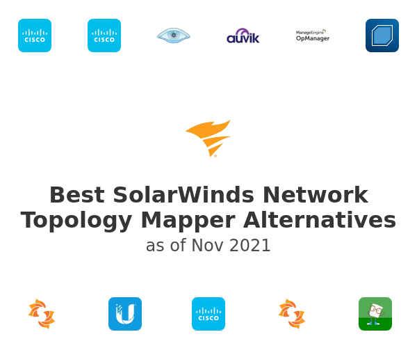 Best SolarWinds Network Topology Mapper Alternatives