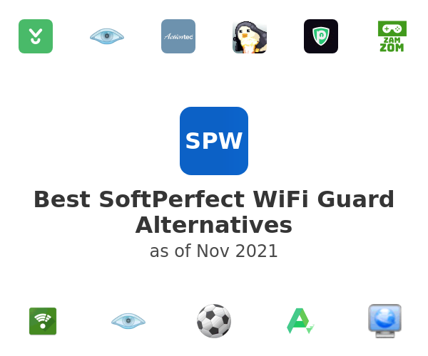 Best SoftPerfect WiFi Guard Alternatives