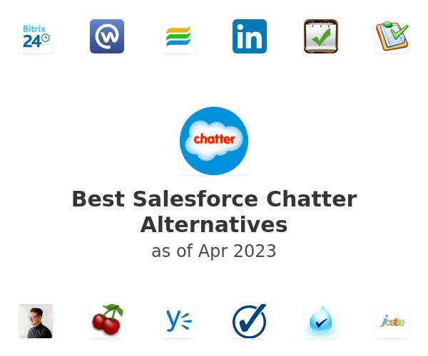 Best Salesforce Chatter Alternatives