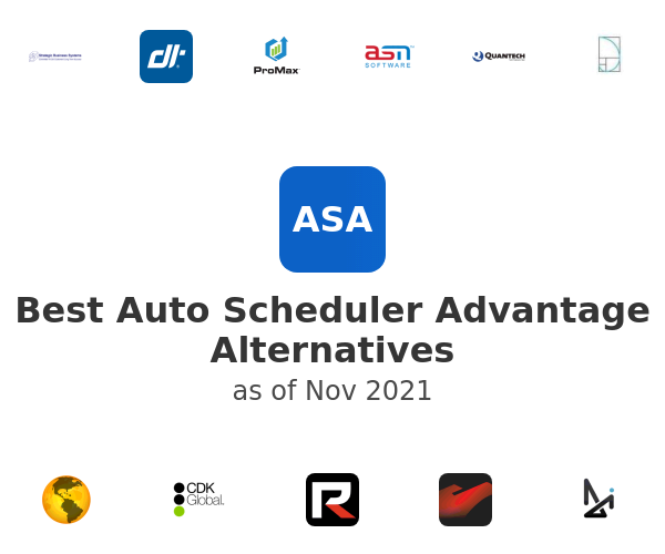 Best Auto Scheduler Advantage Alternatives