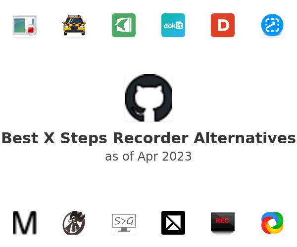 Best X Steps Recorder Alternatives