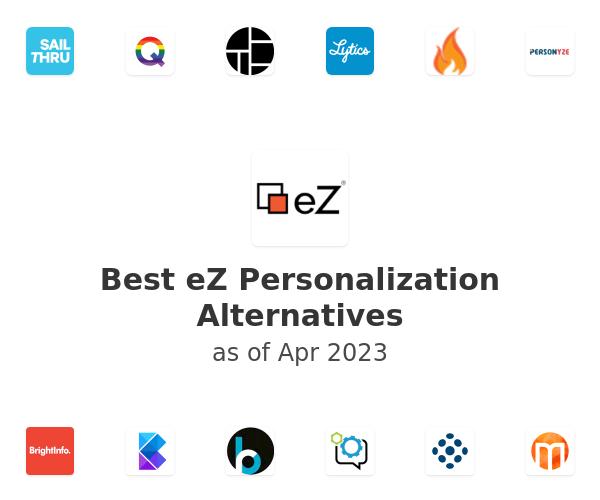 Best eZ Personalization Alternatives