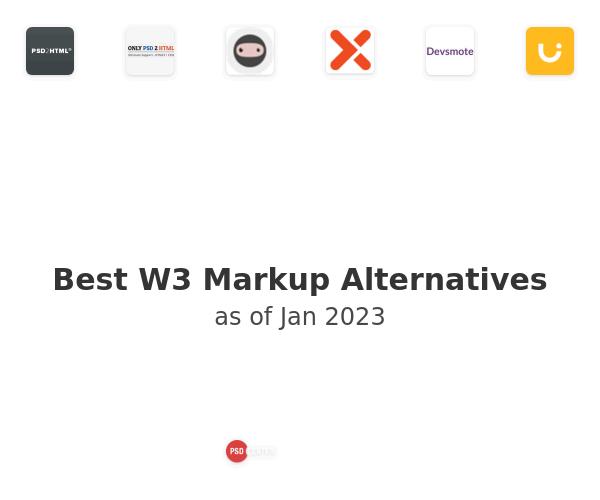 Best W3 Markup Alternatives