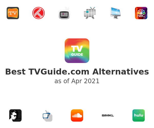 Best TVGuide.com Alternatives