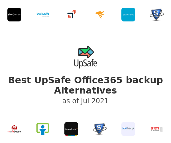 Best UpSafe Office365 backup Alternatives