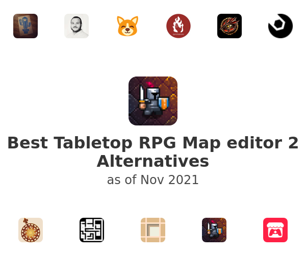 Best Tabletop RPG Map editor 2 Alternatives