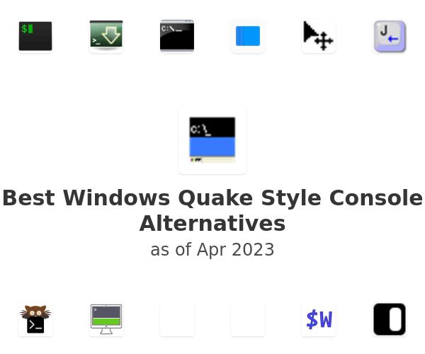 Best Windows Quake Style Console Alternatives