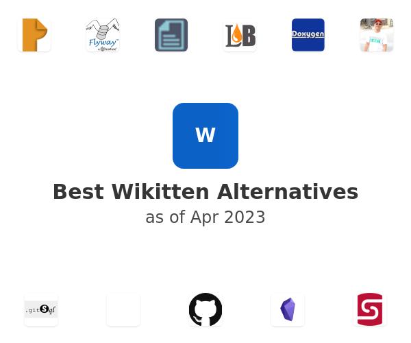 Best Wikitten Alternatives