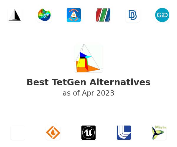Best TetGen Alternatives