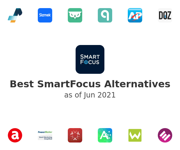 Best SmartFocus Alternatives