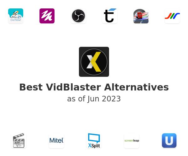 Best VidBlaster Alternatives