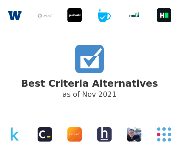 Best Criteria Alternatives
