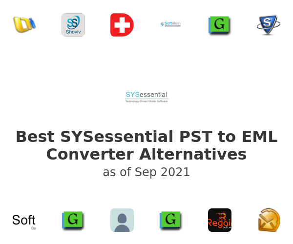 Best SYSessential PST to EML Converter Alternatives
