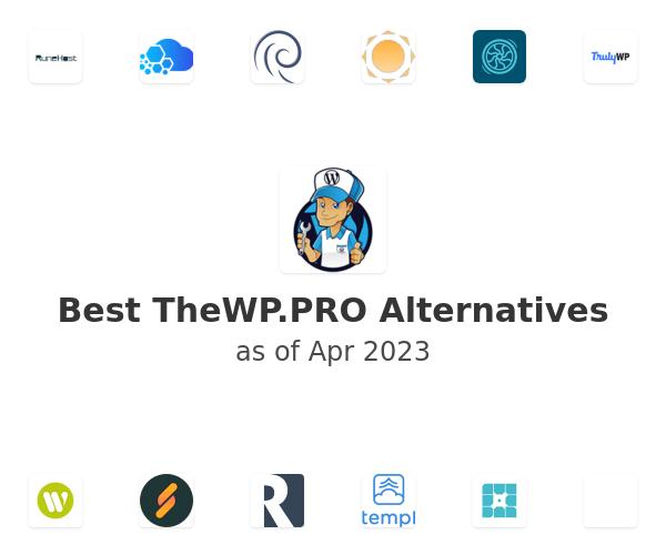 Best TheWP.PRO Alternatives