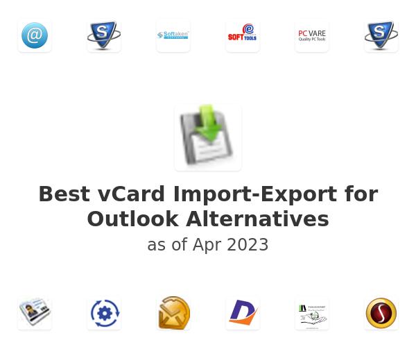 Best vCard Import-Export for Outlook Alternatives