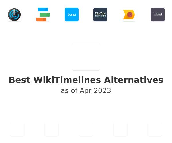Best WikiTimelines Alternatives