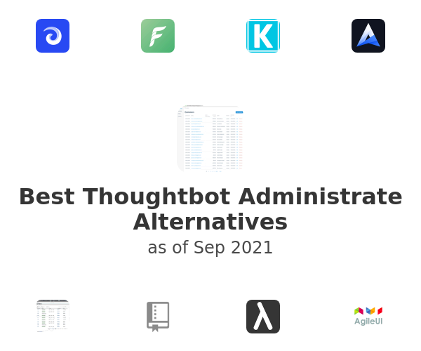 Best Thoughtbot Administrate Alternatives
