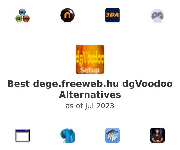 Best dgVoodoo Alternatives