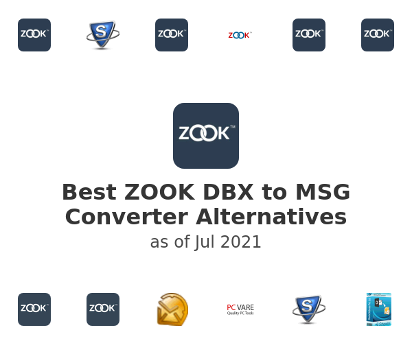 Best ZOOK DBX to MSG Converter Alternatives