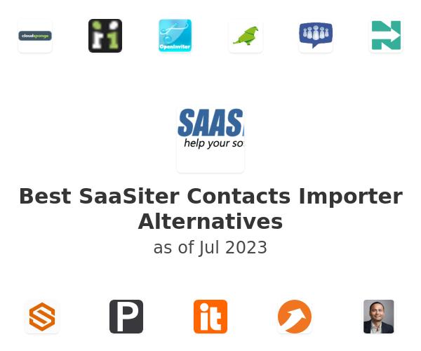 Best SaaSiter Contacts Importer Alternatives