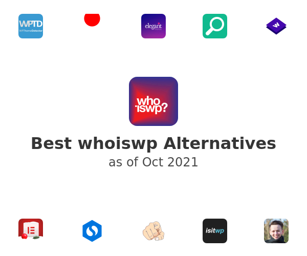 Best whoiswp Alternatives