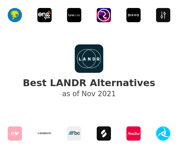 Best LANDR Alternatives