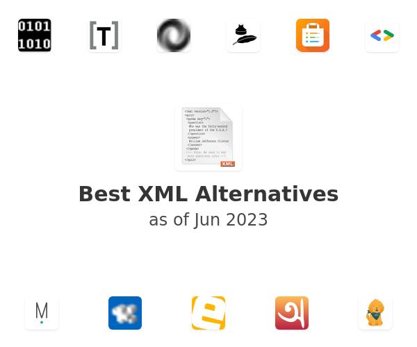 Best XML Alternatives