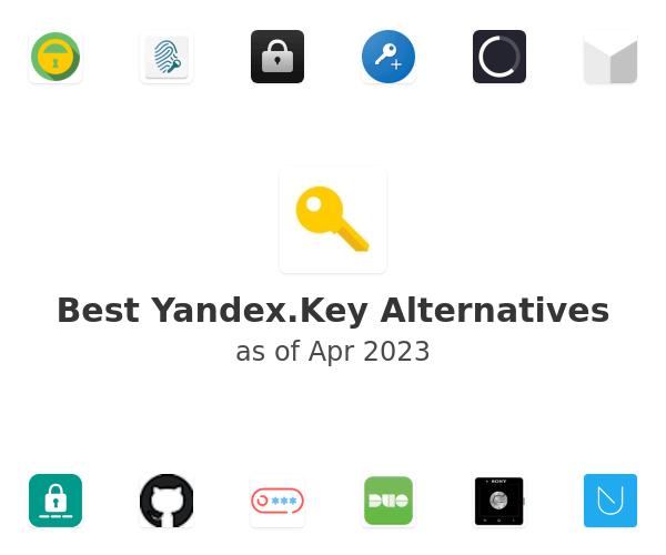 Best Yandex.Key Alternatives