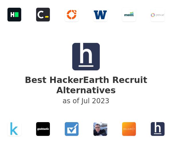Best HackerEarth Recruit Alternatives
