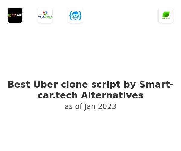 Best Uber clone script by Smart-car.tech Alternatives