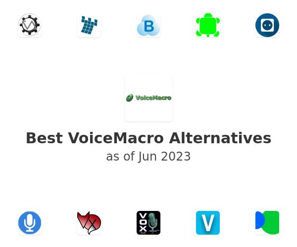Best VoiceMacro Alternatives