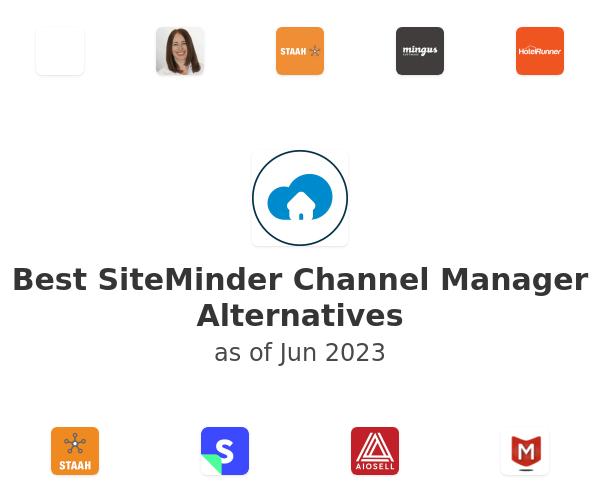Best SiteMinder Channel Manager Alternatives