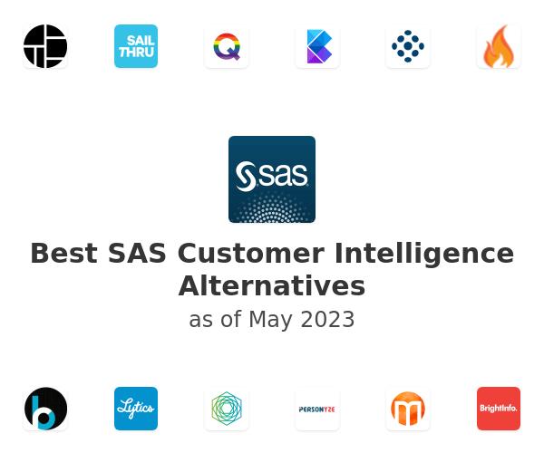 Best SAS Customer Intelligence Alternatives