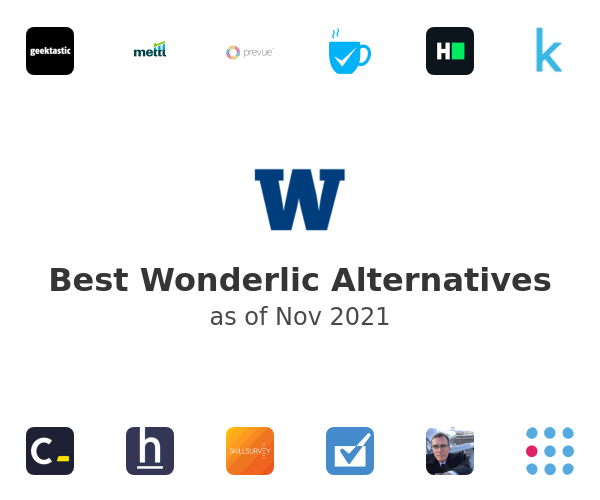 Best Wonderlic Alternatives