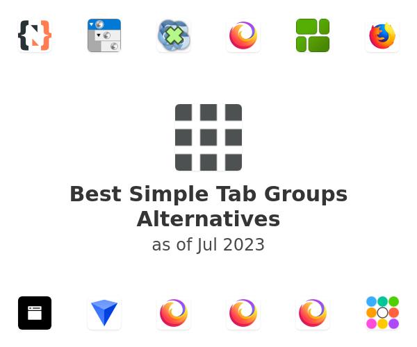 Best Simple Tab Groups Alternatives