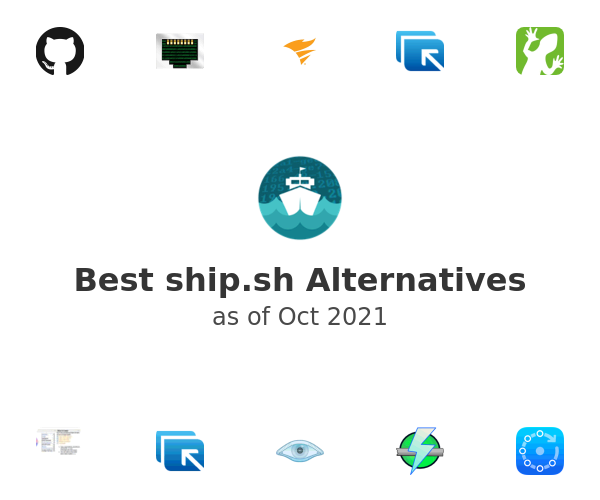 Best ship.sh Alternatives