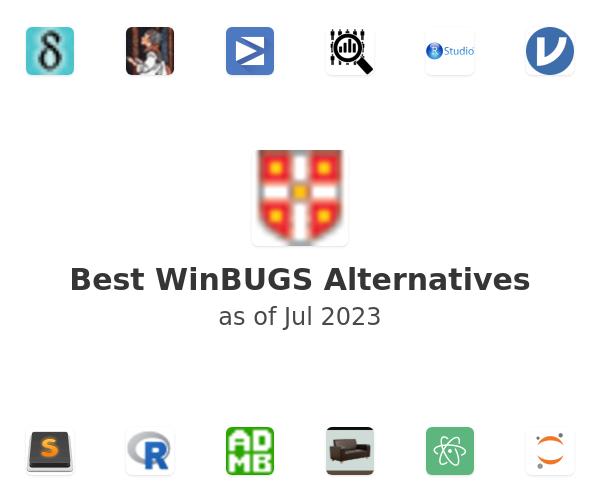 Best WinBUGS Alternatives