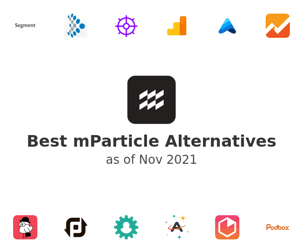 Best mParticle Alternatives